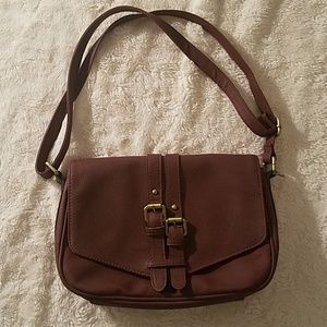 Merona burgandy purse